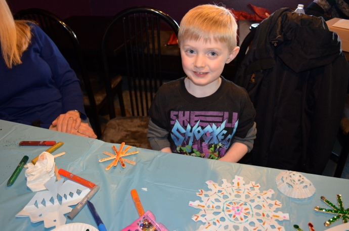 My nephew Joseph came to help!