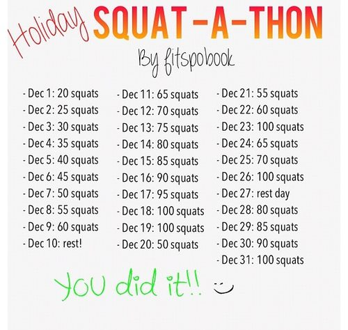 Holiday Squat-athon