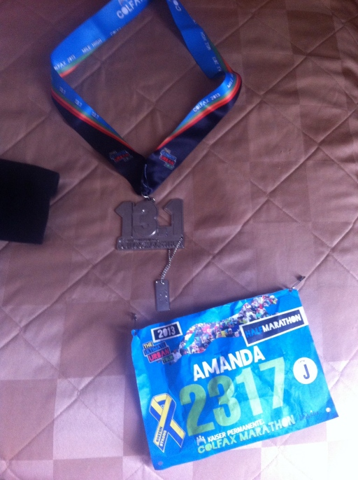 Finishers Medal!