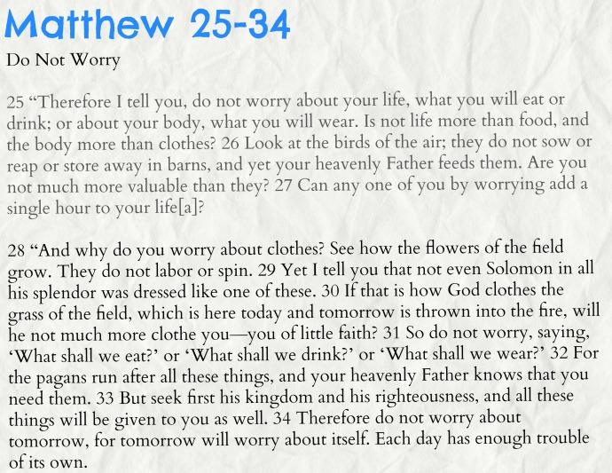 matthew 25-34